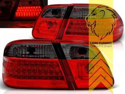 LED Rückleuchten Heckleuchten für Mercedes Benz W210 Limo E-Klasse rot schwarz