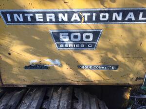 International 500 C Series Crawler