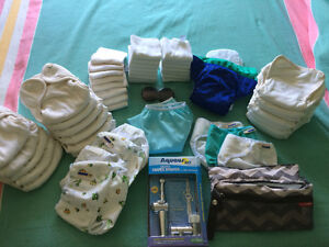 Cloth Diapers & All Accessories