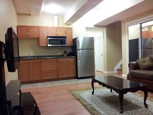 Beautiful 2 bedrooms furnished basement suite in Timberlea