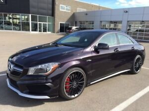 2014 Mercedes CLA45 AMG 355hp Turbo AWD, Ext Warranty April 2020