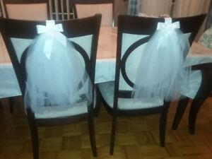 decoration pour chaises