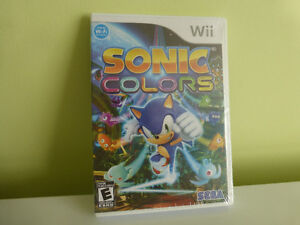 Sonic Colours Wii - Neuf SCELLÉ