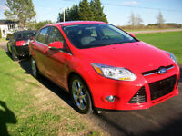 2012 Ford Focus SEL Sedan ONLY 63 KM FULLY LOATED