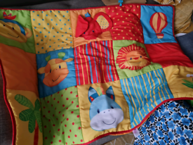 Baby's large play mat in bag