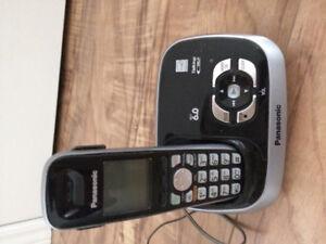 Téléphone sans fil Panasonic avec répondeur