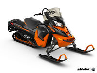 2016 Skidoo Renegade Back Country Clearance Event