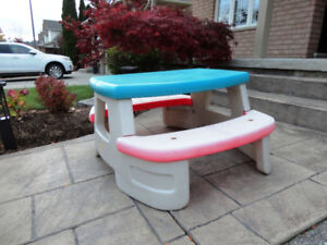 Step 2 Outdoor or Indoor Kids Picnic Table. In Great Shape