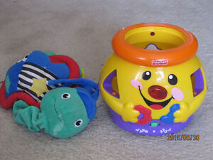 Rattles, Musical puzzle, Musical cookie jar Peterborough Peterborough Area image 8