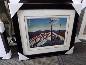 Picture Lake Superior Lawren Harris Signed and #'d 727-5344
