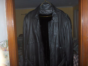 Leather Jacket by Di Capra International Montreal Canada Reduced