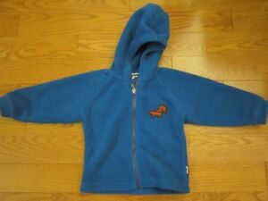 2T Yeti Fleece Jacket - Perfect for spring