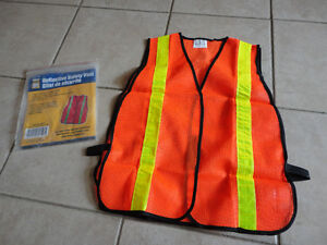Brand new reflective safety vest one size fits all London Ontario image 1