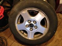 Almost New 195/65/15 Tires On Rims- Need Gone!
