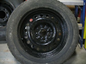 4 Snow Tires on rims for a Chev Equinox 2014