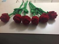 Stuffed Roses (wired)
