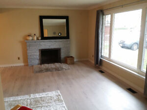 3+1 Bdrm Renovated Bungalow in the Heart of Markham $1850/month
