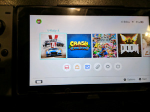 Nintendo switch with cfw and a micro sd card!!!