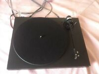 PRO-JECT P1 HIGH END TURNTABLE-ORIGINAL-ORTOFON CARTRIDGE-