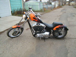 2006 Harley Davidson custom built chopper SK registered