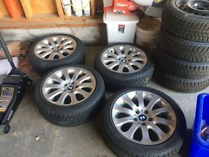 BMW winter tires and rims Kingston Kingston Area image 1