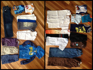 Variety of Boys Clothing size 5T all of it for $65.00