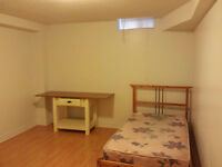 Spacious and clean 1 bdrm basement apartment avail JAN 15' Watch
