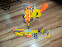 2 nerf markers,Vulcan EBF25 and Recon CS-6