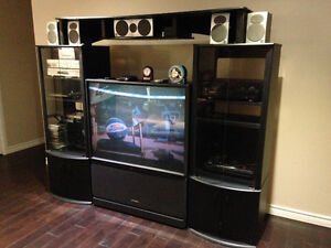 Home Theatre Cabinet with TV
