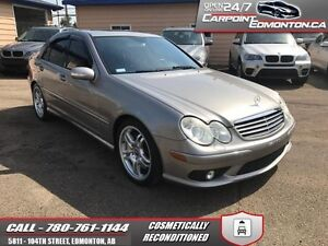 2005 Mercedes Benz C-Class C55 AMG...RARE AS RARE CAN BE....MINT