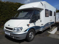 Hobby 650, 4 Berth, Fixed rear French bed, motor home for sale