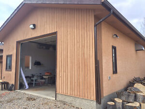 Large 1,200 sq foot heated shop for rent - parking or storage