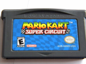 JEU DE NINTENDO  GAME BOY ADVANCE MARIO KART SUPER CIRCUIT
