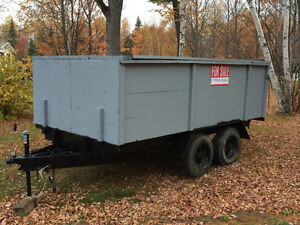 HEAVY DUTY TANDEM TRAILER FOR SALE