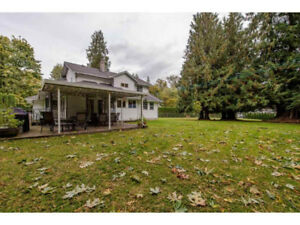 Abbotsford house with acreage for sale