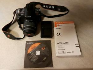Sony a330 DSLR camera