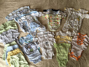Collection of Preemie and up to 5lbs clothing