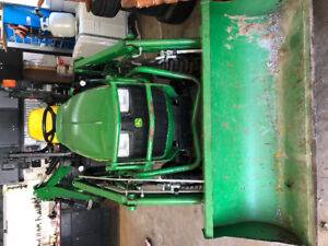 2014 John Deere 1025RTLB sub Compact Utility Tractor, 262 hrs on