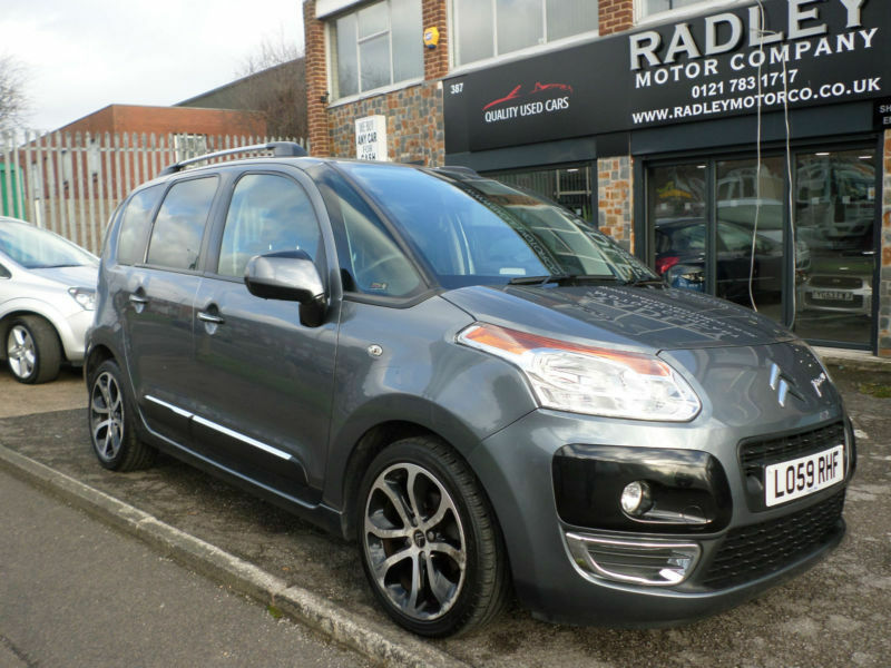 2010 citroen c3 picasso 1 6hdi 8v 90bhp exclusive 5dr 59 reg diesel grey in sheldon west. Black Bedroom Furniture Sets. Home Design Ideas