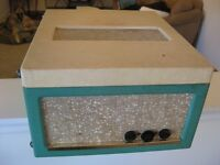 Antique 1950's Electrohome Stereophonic Tube Amp Turntable