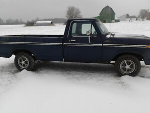 1977 Ford truck F100 2wd.