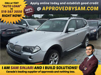 """NEW ARRIVAL - BMW X3 3.0si  - TEXT """"AUTO LOAN"""" TO 519 567 3020"""