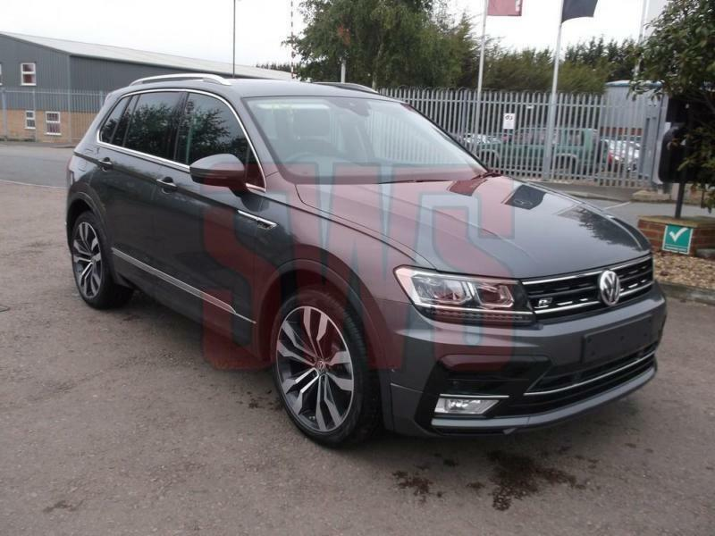 2017 volkswagen tiguan 2 0 tdi r line 110kw 150ps damaged on delivery in tewkesbury. Black Bedroom Furniture Sets. Home Design Ideas