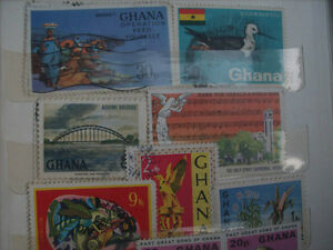 Selling My Stamp Collection--Ghana Lot 1