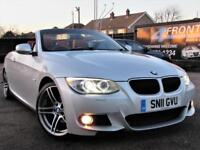 2011 BMW 3 SERIES 320I M SPORT 6 SPEED MANUAL CABRIOLET PETROL CONVERTIBLE PETRO