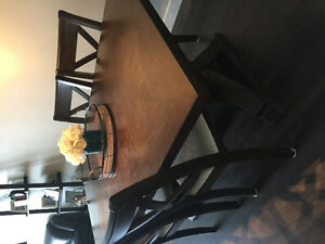Rustic brown dining room set for sale!!!