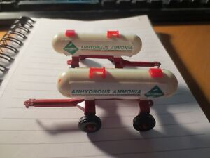 "2  TOY ANHYDROUS AMMONIA TANKERS 3 1/2"" LONG"