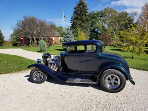 Beautiful Steel Body 31 Ford Model A Trade / Read AD  4 Details