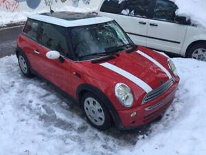Mini Cooper 2006 - 5 vitesses - 206 000km