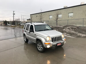 2003 Jeep Liberty,Automatic, 4x4, Limited, 3/Y warranty availabl